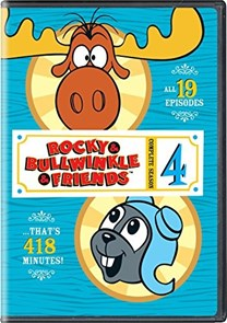 Rocky & Bullwinkle & Friends: Complete Season 4 [DVD]