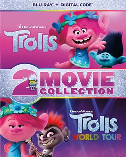 Trolls / Trolls World Tour 2-Movie Collection - Multi-Feature [Blu-ray]