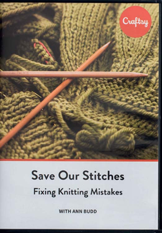 Save Our Stitches: Fixing Knitting Mistakes [DVD]