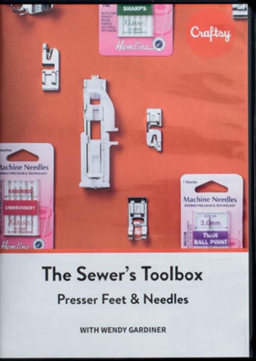 The Sewer's Toolbox: Presser Feet & Needles [DVD]