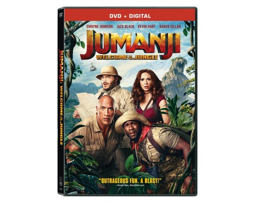 Jumanji: Welcome to the Jungle [DVD]