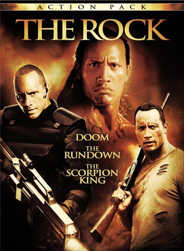 The Rock Action Pack [DVD]