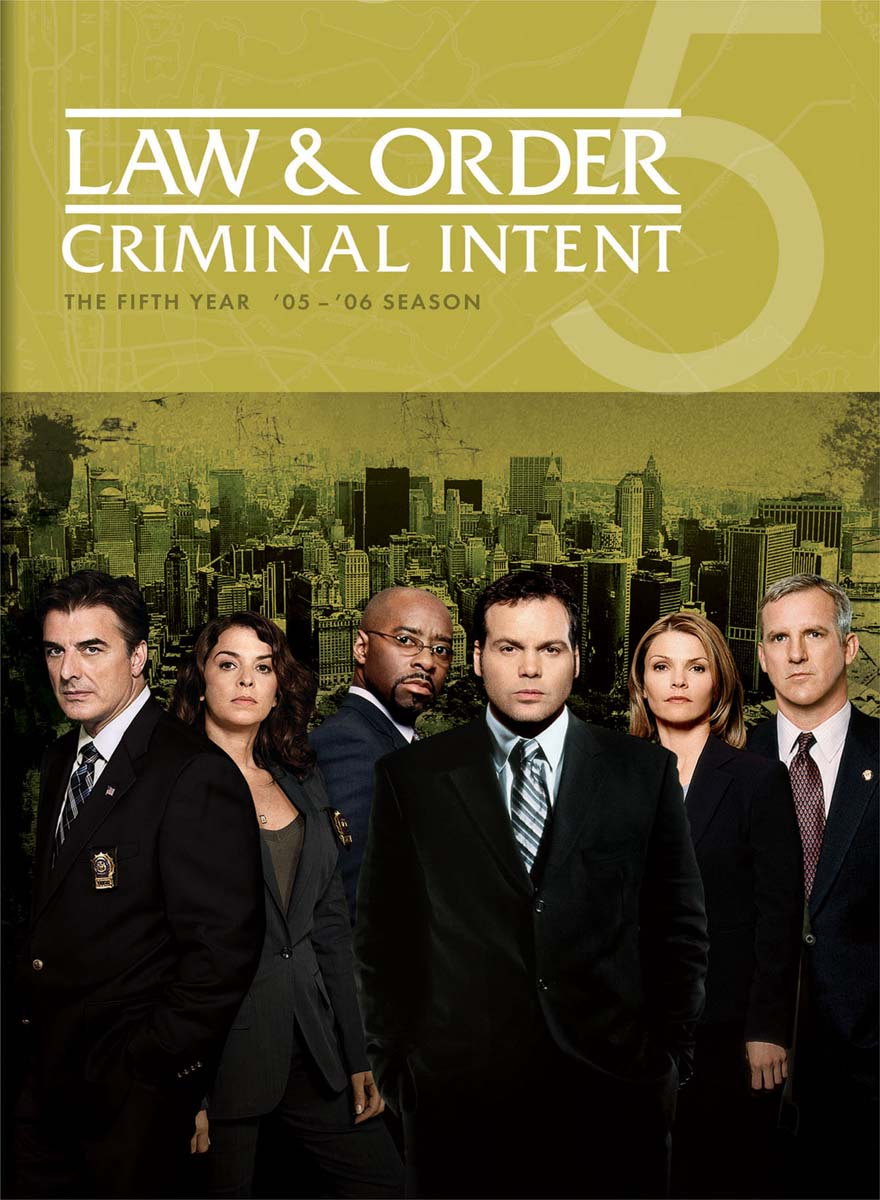 Law & Order: Criminal Intent - The Fifth Year [DVD]