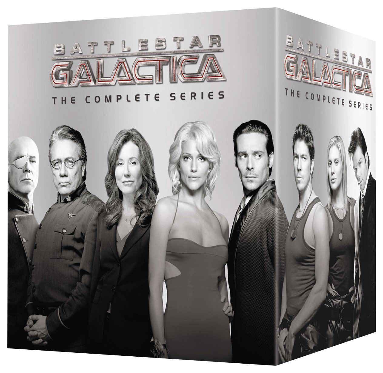 Battlestar Galactica (2004): The Complete Series [DVD]