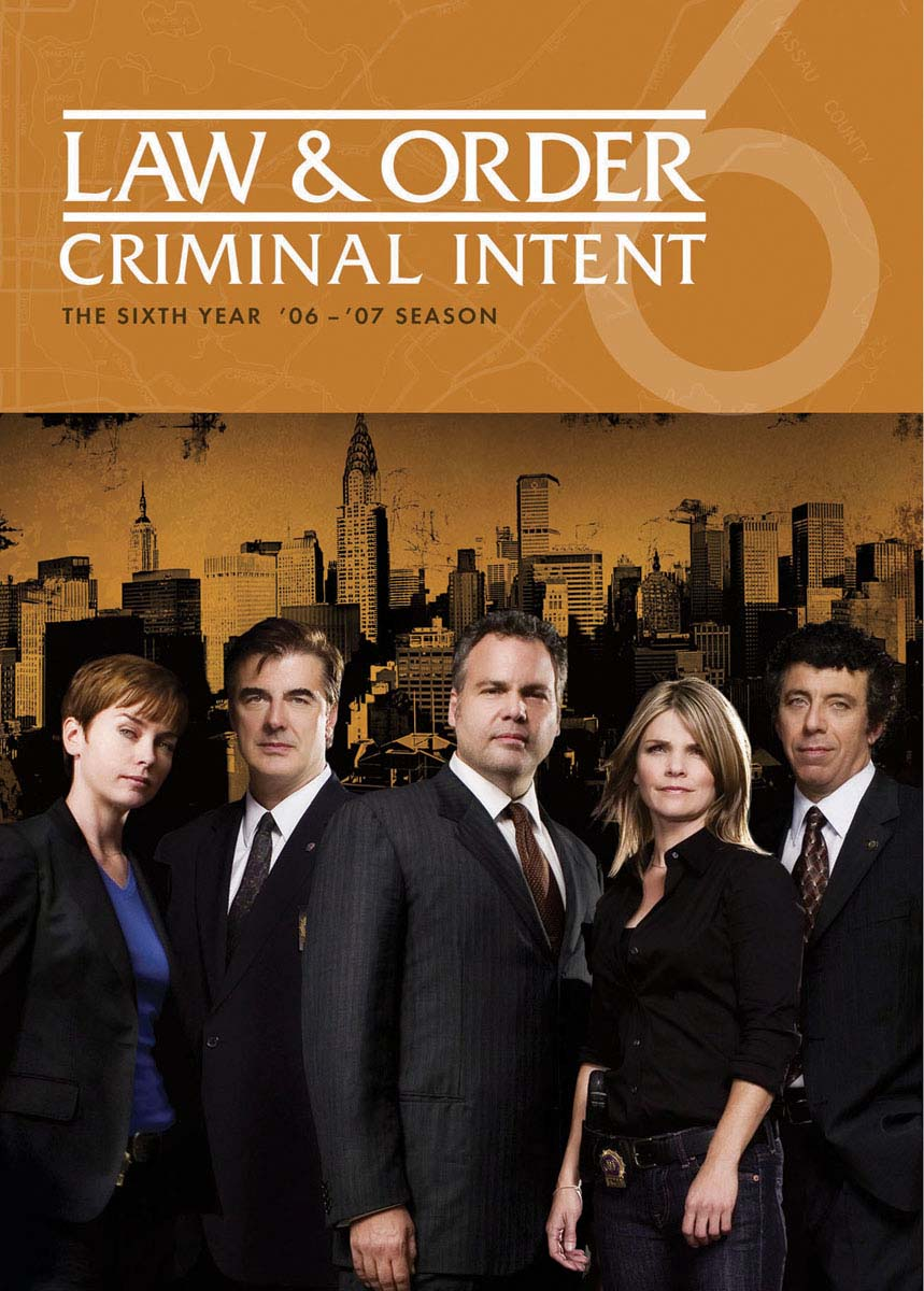 Law & Order: Criminal Intent - The Sixth Year [DVD]