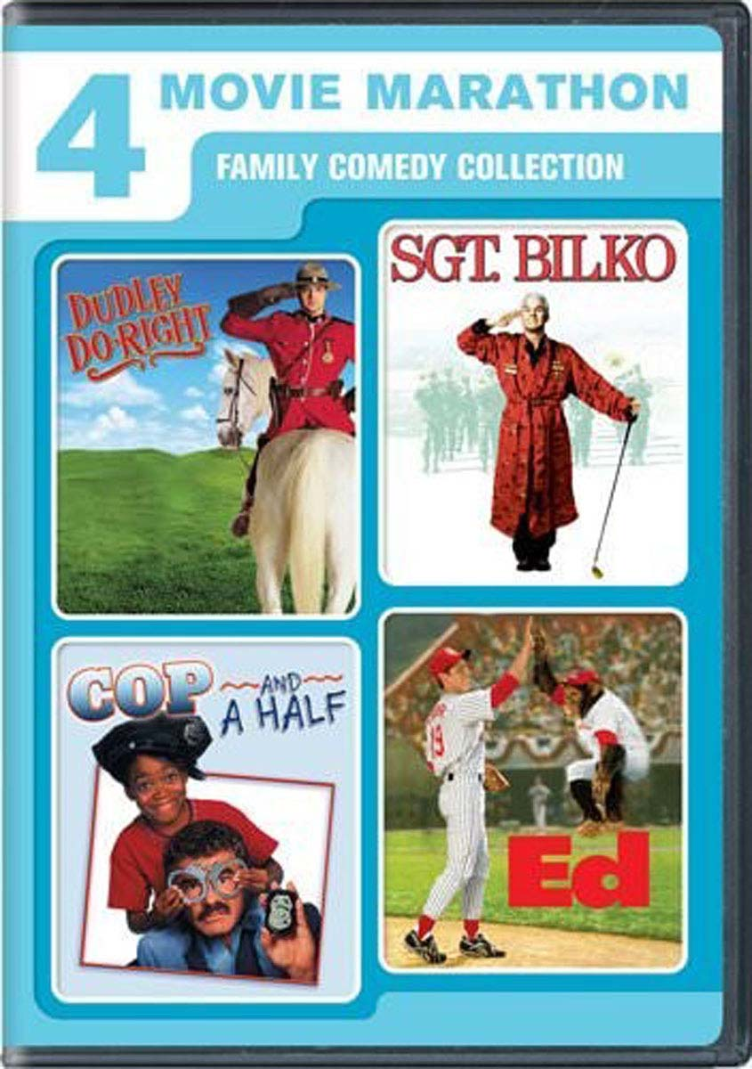 Family Comedy Collection 4 films [DVD]