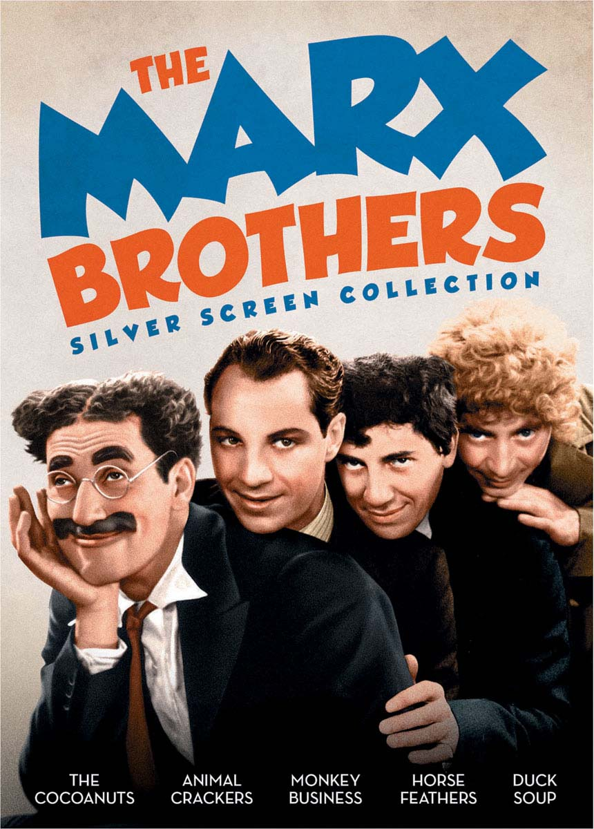 The Marx Brothers Silver Screen Collection (The Cocoanuts / Animal Crackers / Monkey Business / Hors
