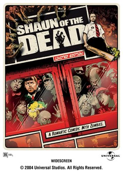 Shaun of the Dead Limited Edition Steelbook (with DVD) [Blu-ray]