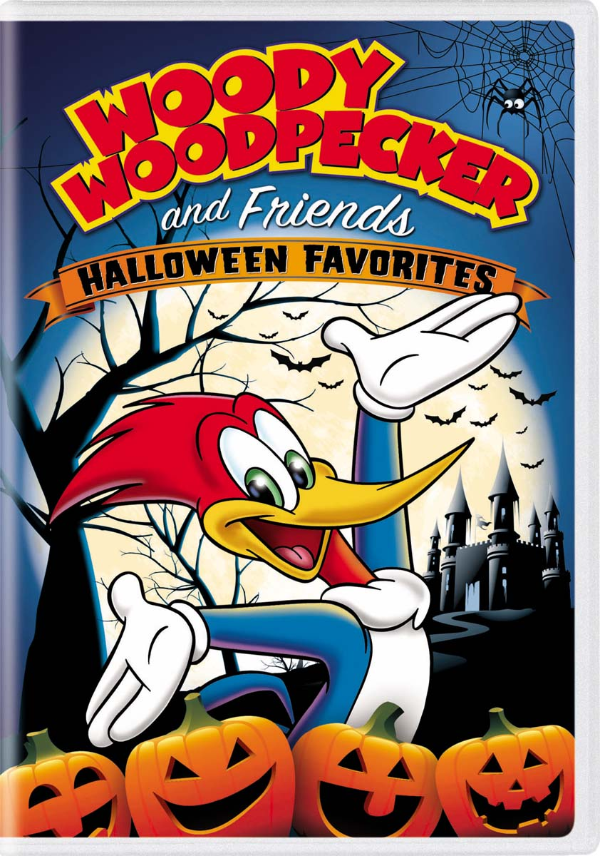 Woody Woodpecker and Friends Halloween Favorites [DVD]