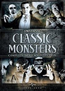 Universal Classic Monsters: Complete 30-Film Collection [DVD]