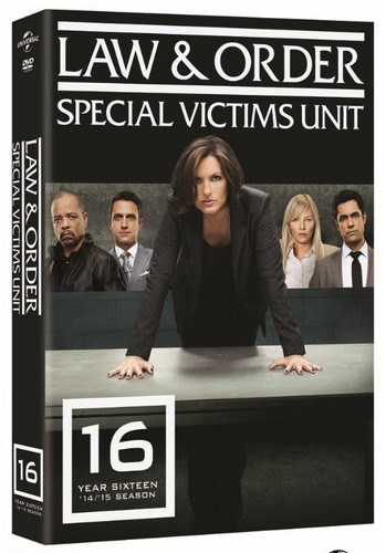 law order special victims unit the sixteenth year dvd