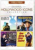 Universal Hollywood Icons Collection: James Stewart (Harvey / Winchester '73 / The Glenn Miller Stor
