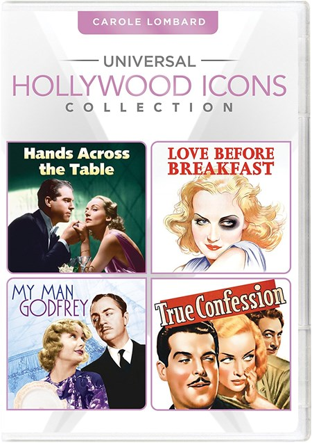Universal Hollywood Icons Collection: Carole Lombard (Hands Across the Table / Love Before Breakfast