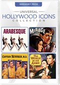 Universal Hollywood Icons Collection: Gregory Peck (Arabesque / Mirage / Captain Newman, M.D. / The