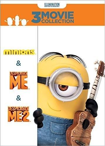 Despicable Me 3-Movie Collection (Despicable Me / Despicable Me 2 / Minions) [DVD]