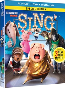 Sing (with DVD - Double Play) [Blu-ray]