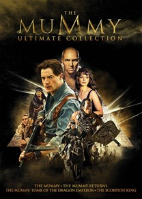 The Mummy Ultimate Collection (The Mummy (1999) / The Mummy Returns / The Mummy: Tomb of the Dragon