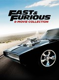Fast & Furious 8-Movie Collection [DVD]
