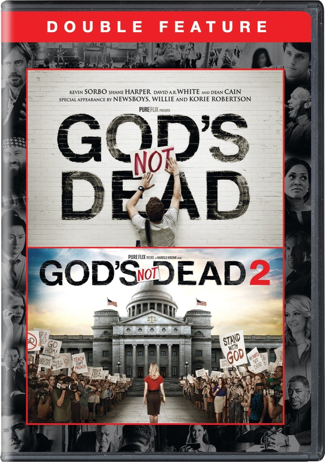 God's Not Dead / God's Not Dead 2 Double Feature [DVD]