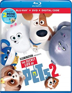 The Secret Life of Pets 2 (with DVD - Double Play) [Blu-ray]
