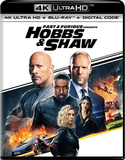 Fast & Furious Presents: Hobbs & Shaw (4K Ultra HD + Blu-ray + Digital Download) [UHD]