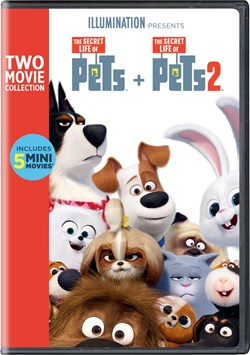 The Secret Life of Pets 1 & 2 [DVD]