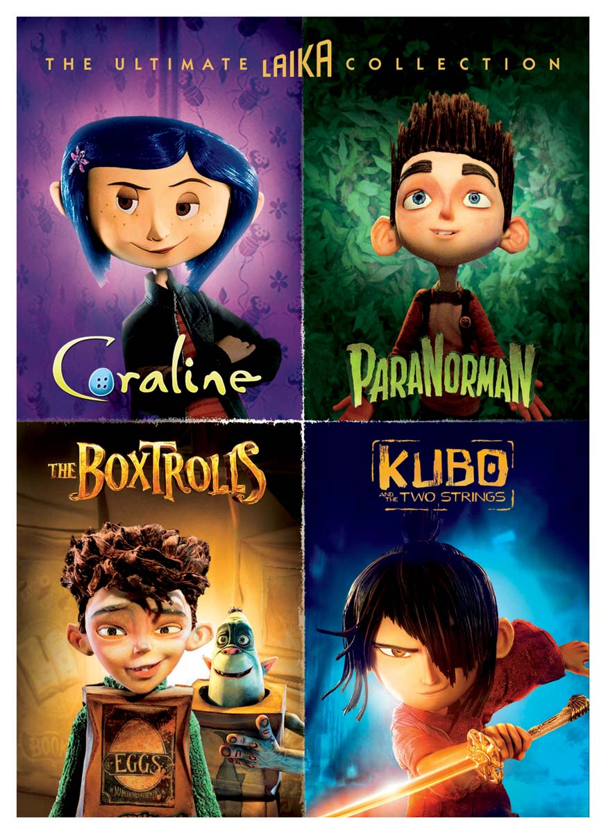 The Ultimate Laika Collection (Coraline / ParaNorman / The Boxtrolls / Kubo and the Two Strings) [DV