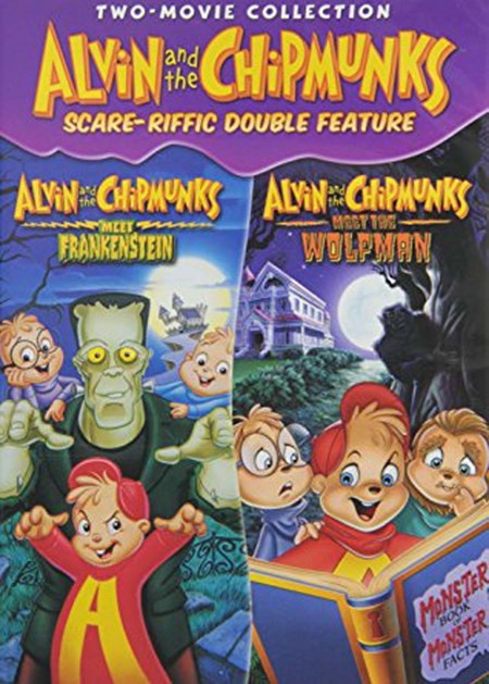 Alvin and the Chipmunks Scare-riffic Double Feature [DVD]
