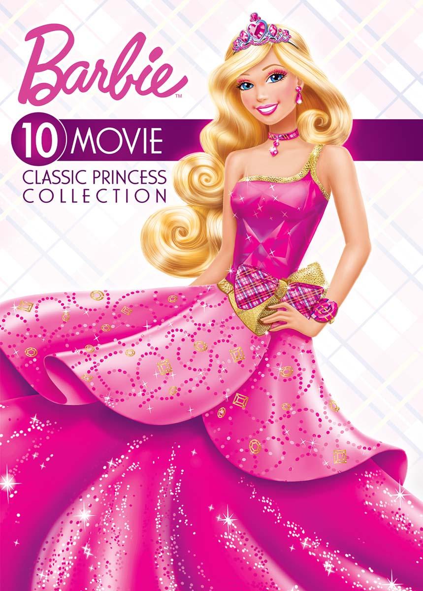 Barbie: 10-Movie Classic Princess Collection [DVD]