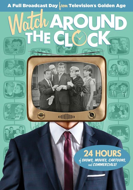 Watch Around the Clock – 24 Hours of TV + Digital [DVD]