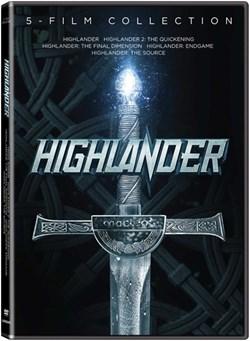 Highlander 5 film collection - DVD [DVD]