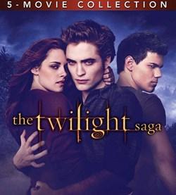 Twillight Saga 5 movie collection- DVD [DVD]