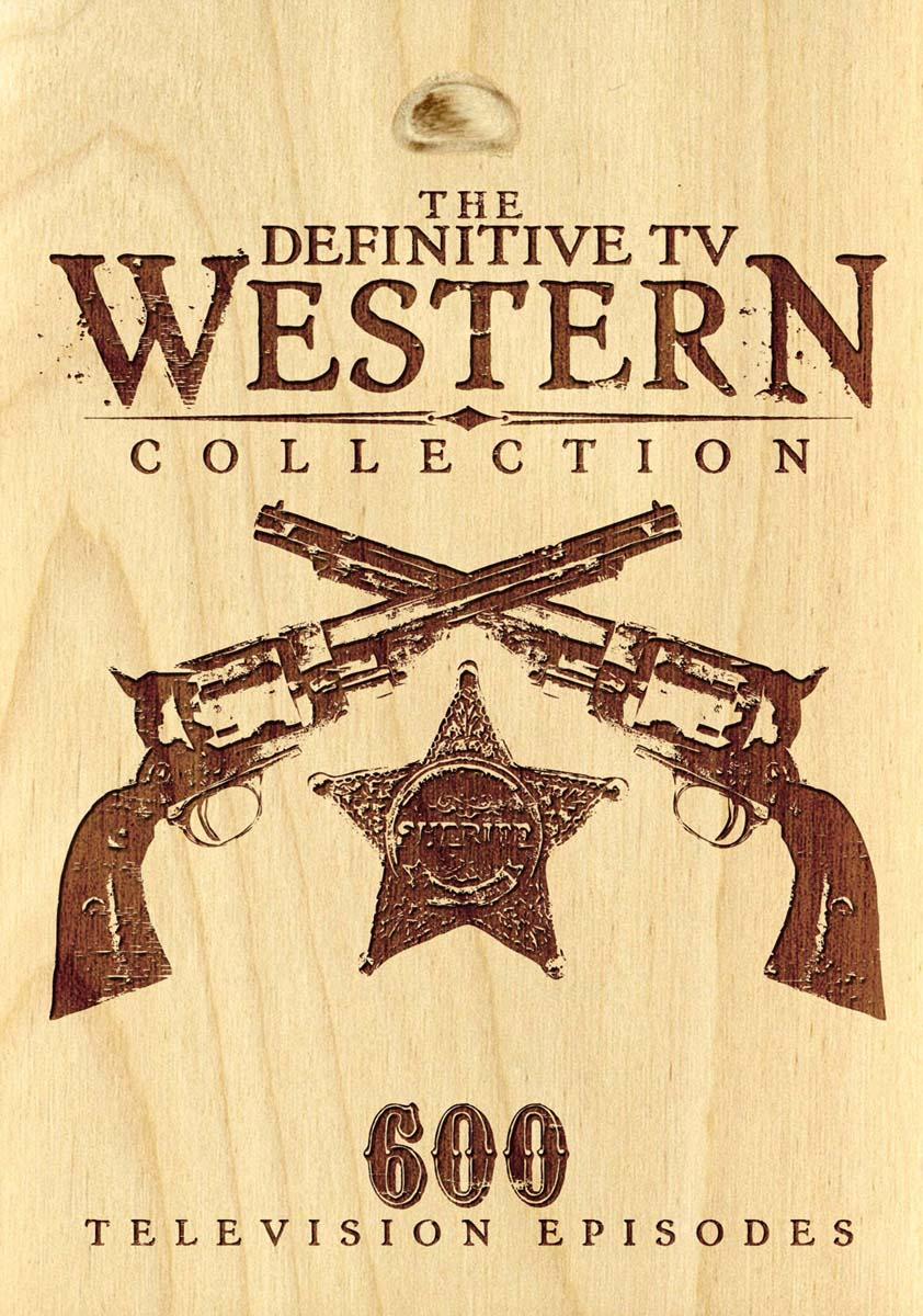 Definitive TV Western Collection - 600 Episode Set [DVD]